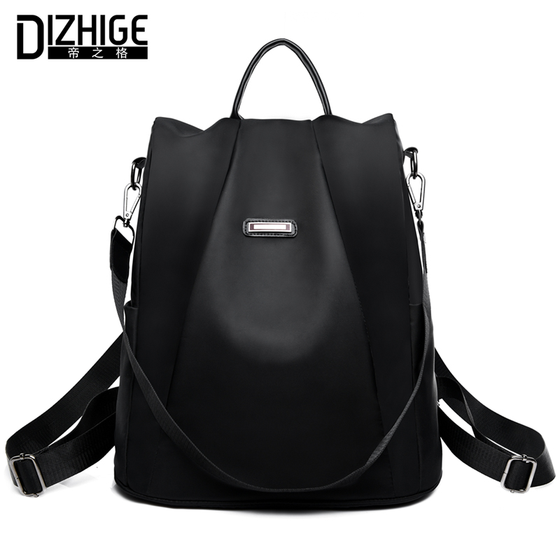 Dizhige Brand Anti-theft Oxford Backpack Female Designer School Bags For Teenager Girls Waterproof Travel Backpack Women Bagpack