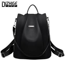 DIZHIGE брендовый Противоугонный Оксфордский рюкзак женский дизайнерский школьный рюкзак для девочек-подростков водостойкий рюкзак для