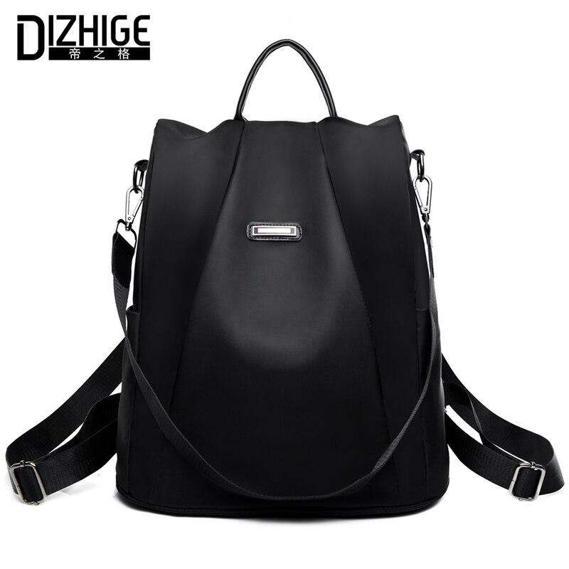 DIZHIGE marca Anti-robo Oxford mochila mujer diseñador escuela bolsas para adolescentes niñas impermeable viaje mochila mujer mochila
