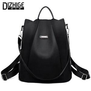 Marka dizhige Anti-theft plecak oxford kobieta dizajnerskie torby szkolne dla nastolatek dziewczyny wodoodporny plecak podróżny kobiety Bagpack
