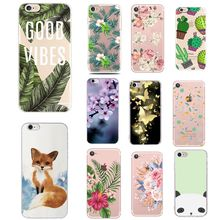 Case For Iphone 6 S Cover Silicon 360 Soft Phone Accesories Cover For Iphone X XS 7 8 7Plus 8Plus 6 6S 5 SE Case For Iphone 5S(China)