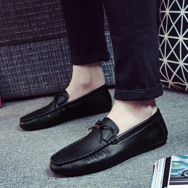 2019 New Men Casual Shoes Fashion Men Loafers Summer Men Shoes Moccasins Slip On Shoes Footwear Men's Peas Shoes Driving Shoes