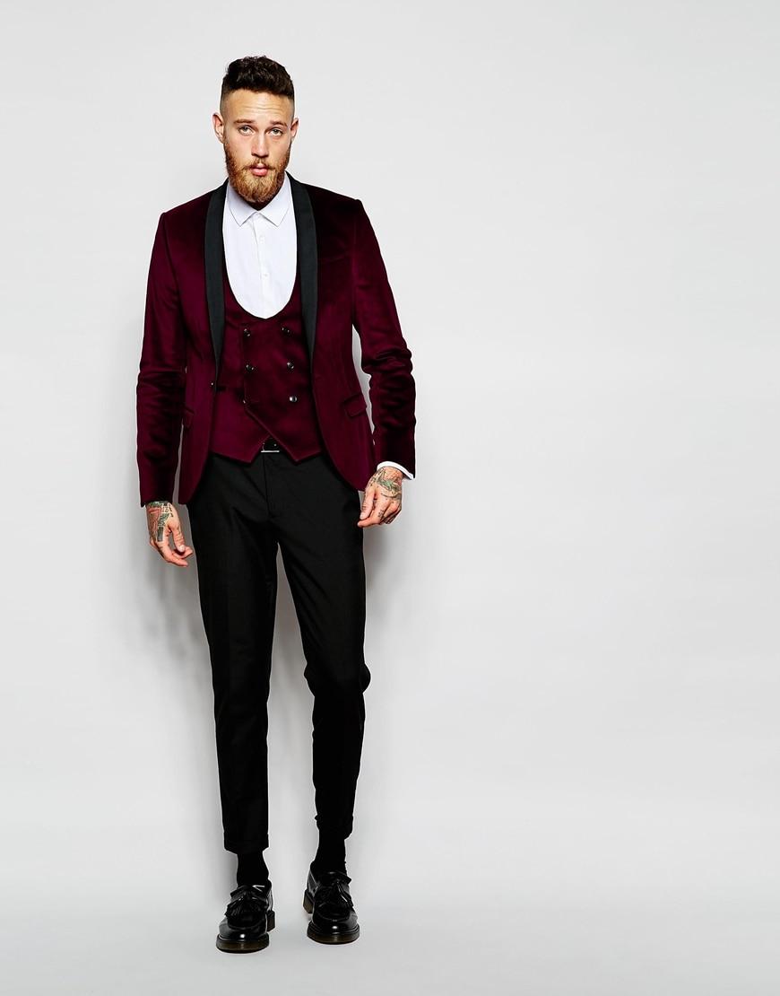 Popular Mens Burgundy Blazer-Buy Cheap Mens Burgundy Blazer lots ...