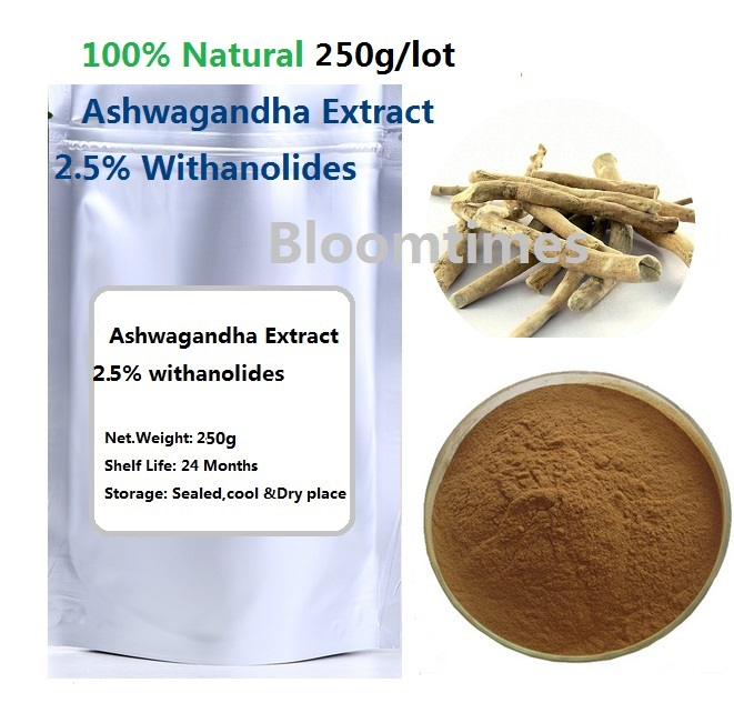 Natural herb Ashwagandha Extract Bulk Powder (2.5% Withanolides)  smart herb стоимость