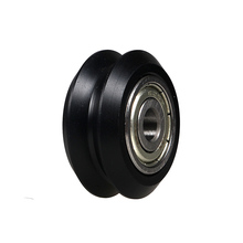 3D printer parts, V pulley, nylon plastic pulley, pulley, guide wheel, DIY, 625ZZ bearing