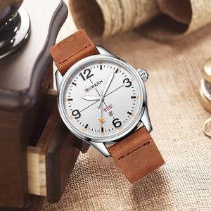 Image 3 - CURREN Simple Fashion style Business Wristwatch Casual Quartz Men Watches Male Clock Relogio Masculino Horloges Mannens Saat
