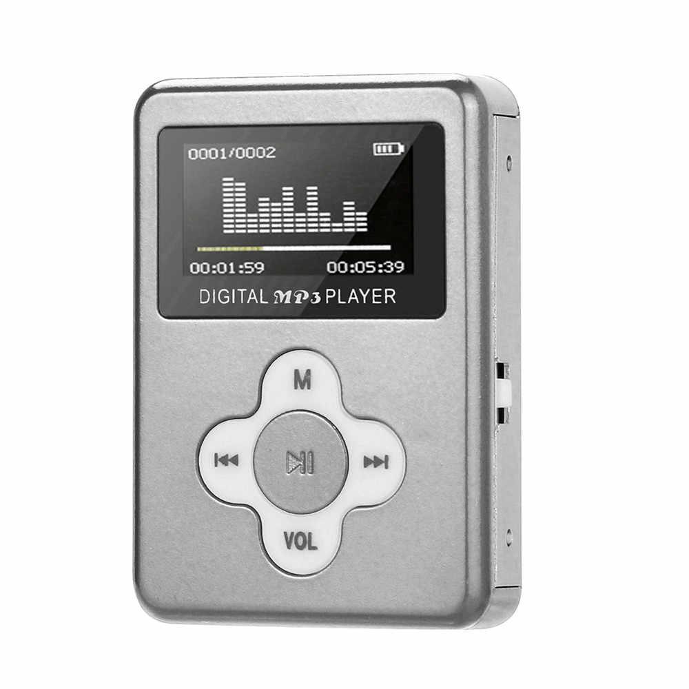 USB мини MP3 плеер ЖК-дисплей Экран Поддержка 32 Гб микро SD карты памяти SL 10 #