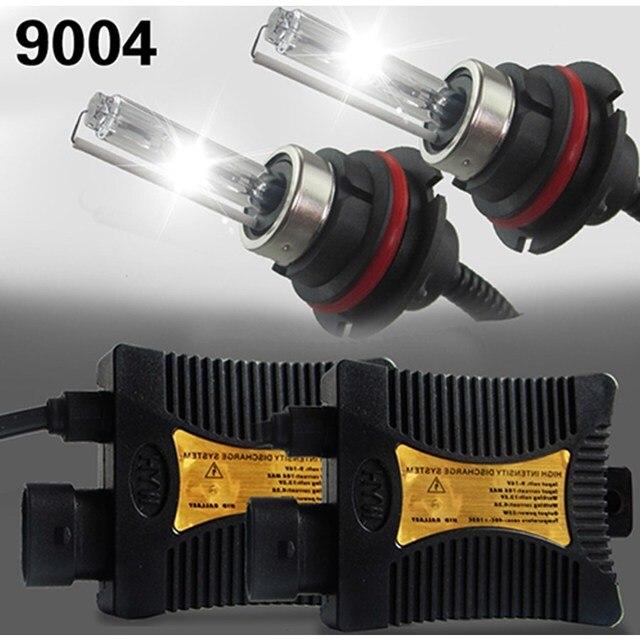 55W 9004 9007 HB5 HB1 HL HID Xenon Headlight Conversion KIT Bulbs Ballast 12V Autos Car