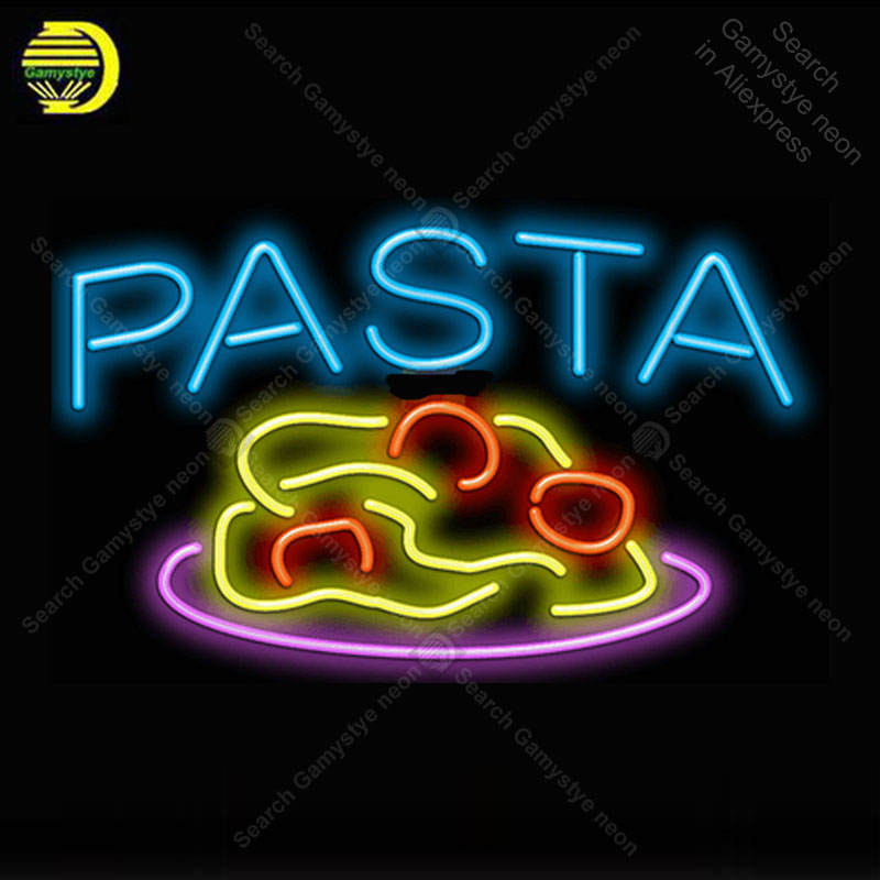Neon Sign for Pasta with Pasta neon Light Sign Decor hotel Store Display Handcrafted Arcade Art Neon Lamps advertise restaurant|Neon Bulbs & Tubes| |  - title=