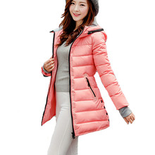 XXXL trending products 2018 long coat women slim hooded coats and jackets plus size clothing