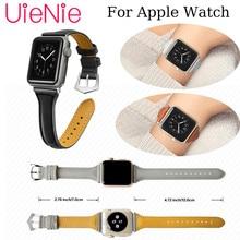 Leather business strap For Apple Watch 40mm 44mm 38mm 42mm wristband for Apple Watch series 4 3 2 1 iWatch Smart watch bracelet kool