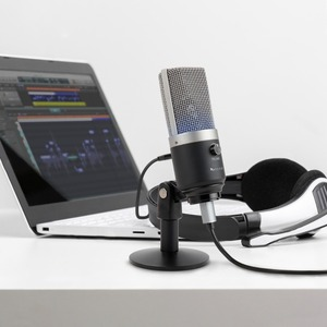 Image 2 - FIFINE USB condenser microphone for computer professional recording MIC for Youtube Skype meeting game one line teaching 670 1