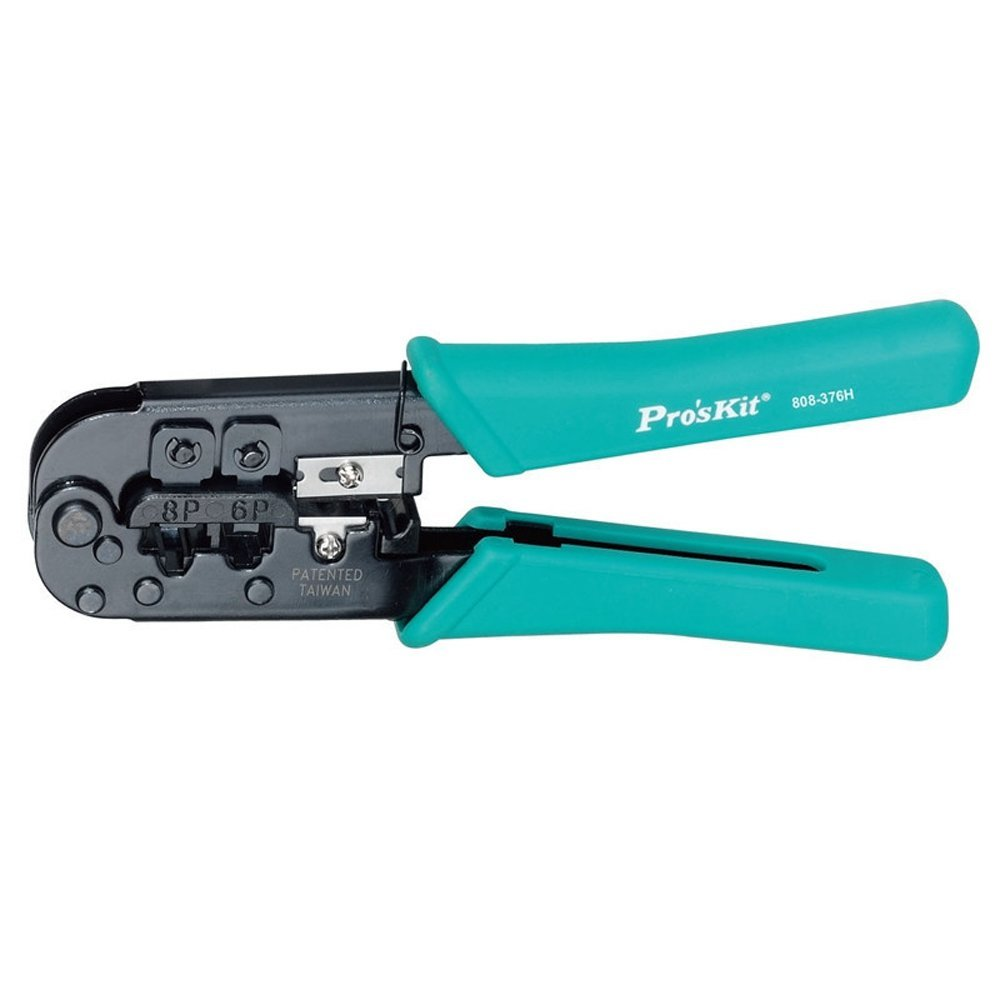 Livraison gratuite Proskit 808-376 H modulaire réseau sertissage outil pince à sertir outils à main électricien câble Multitool réparation