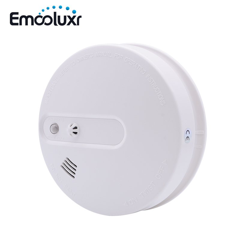 Independent / Wireless Heat + Smoke Sensor Temperature Sensor Alarm Detector Battery Powered for Wireless Alarm System цена