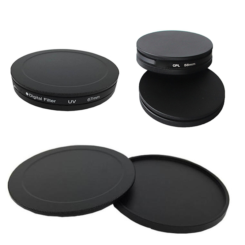 MagiDeal Metal UV CPL ND IR Filter Case Protection Box Lens Cover Stack Storage Cap 40.5mm