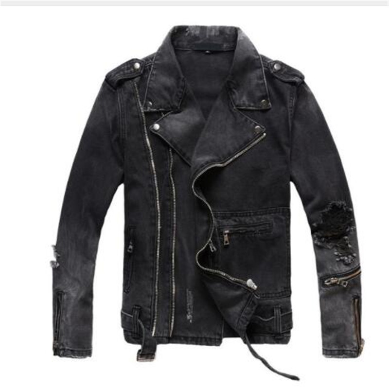 Awesome Mens SOA Club Style Cut Zipper /& Snap Front Naked Leather Shirt Jacket