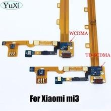 YuXi For Xiaomi Mi3 Mi 3 M3 Replacement Parts USB Dock Charging Port + Mic Microphone Module Board R