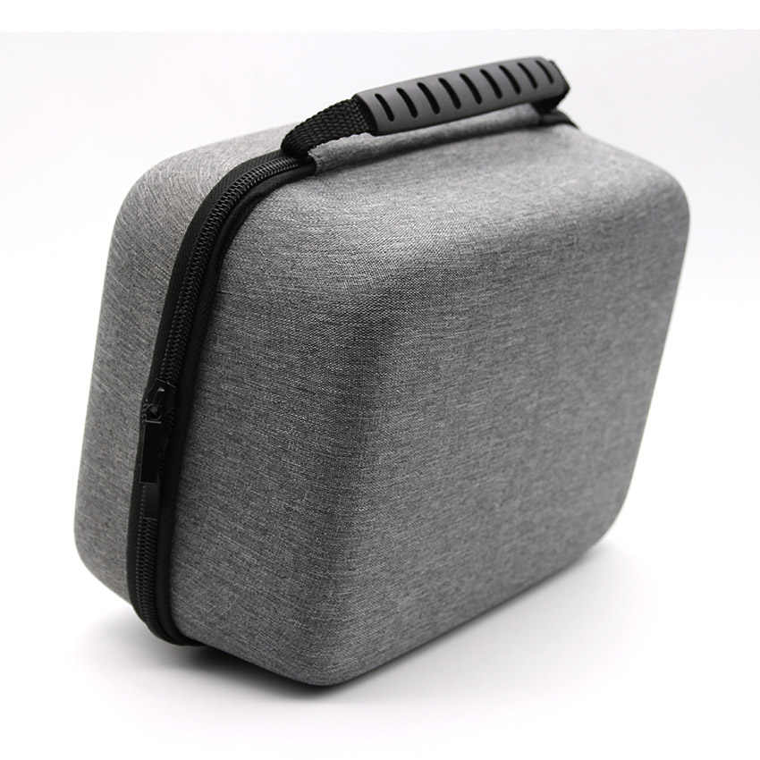 Storage bag EVA bags For VR Oculus Go Case For xiaomi vr Travel Handheld bag , Remote Controller and All Accessories, Grey
