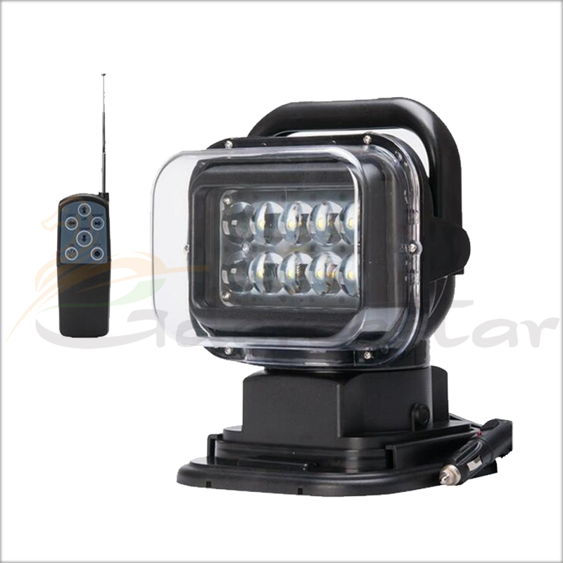 50Вт 12V светодиодные 360 градусов магнитно поиск свет автомобиля лодка пятно дистанционного управления Сид работая свет