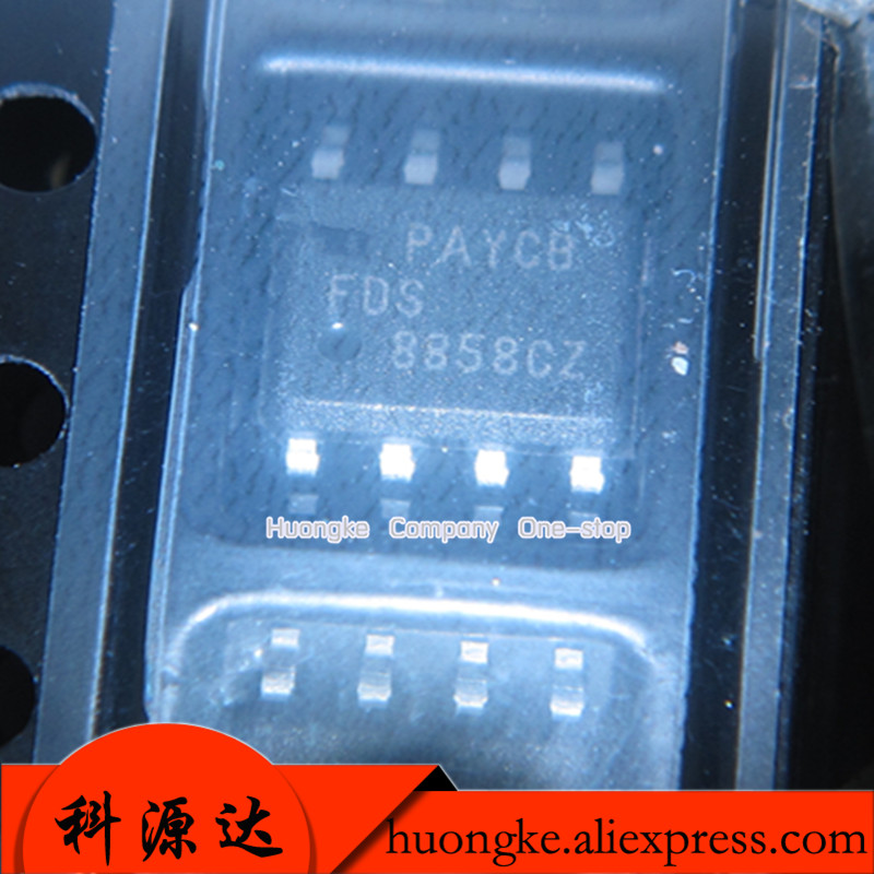 20PCS/LOT FDS8858CZ FDS8858  SOP8 8858CZ In Stock