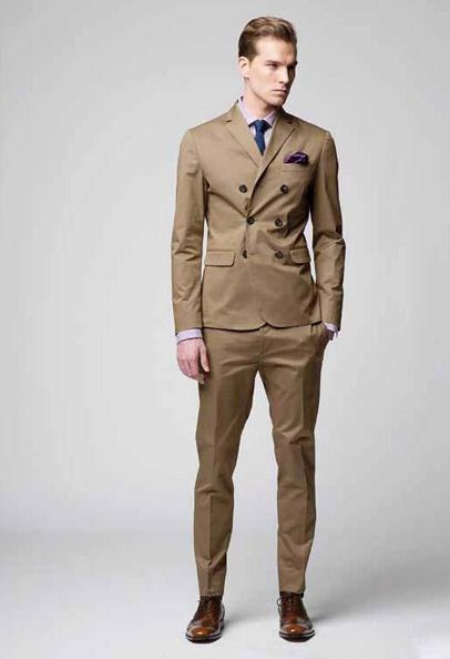 Popular Slim Fit Khaki Suit-Buy Cheap Slim Fit Khaki Suit lots