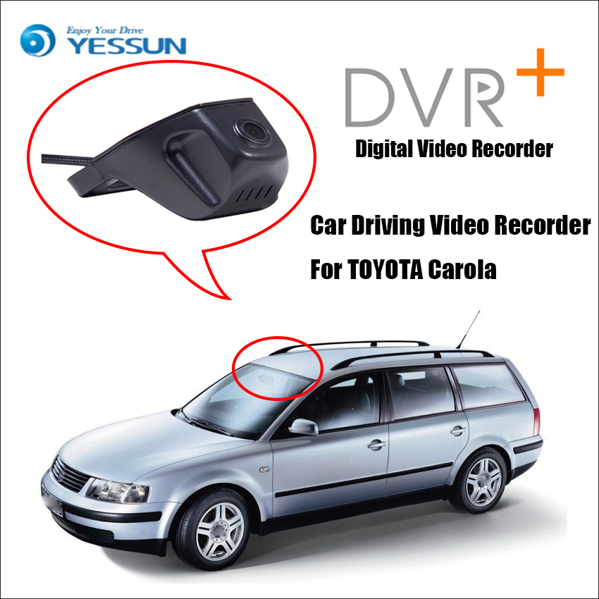 YESSUN Not Rear Back Camera Car DVR Driving Video Recorder For Vw Passat B5 B6 - Front Dash Camera Black Box HD 1080P цена