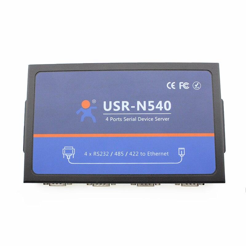 USR-N540 RS485 to LAN Converter RS232 RS422 Ethernet Server DND/DHCP