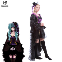 ROLECOS Vocaloid Family Sandplay Singing Of The Dragon Hatsune Miku Cosplay Costume Adult Halloween Costumes For Women Custom