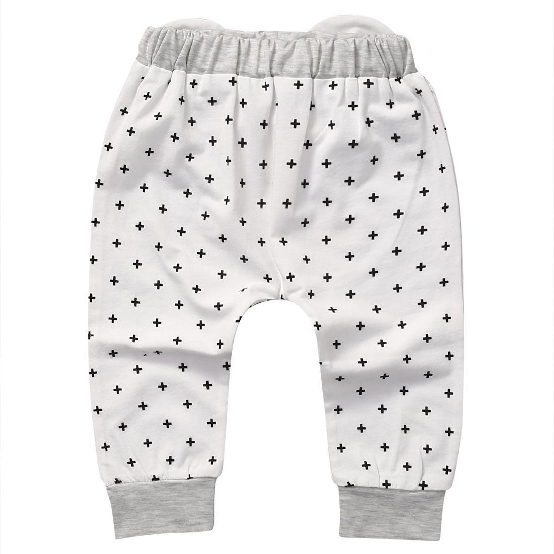 Infant Kids Cartoon Newborn Baby Boys Girls Harem Pants Bottoms Leggings Trousers Pants 0-2T Child Kid Boy Girl Clothing
