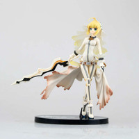 Free Shipping Birthday Gift Fate Stay Night Action Figure Collection 20cm Fate Extra Ccc Nero Saber