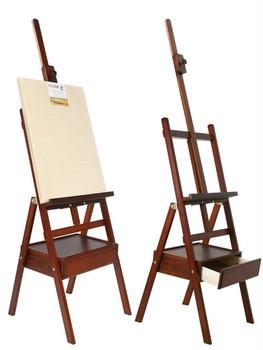 Caballete De Pintura De Madera maciza, soporte De Pintura al óleo para...