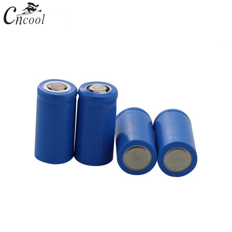 Cncool 100PCS 3.7V 10180 células li-ion bateria recarregável de iões de lítio baterias pilas 70MAH para dispositivo digital lanterna led
