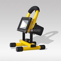 Rechargeable Portable Ultrathin LED Flood Light 10W AC85 265V Waterproof IP65 Floodlight Spotlight Outdoor Lighting Freeshipping