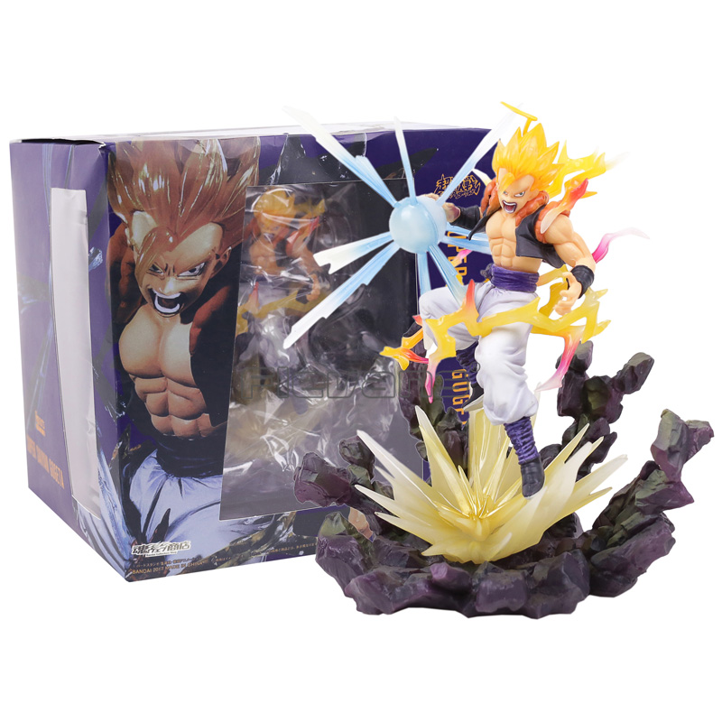 Figuarts ZERO Dragon Ball Z DBZ Super Saiyan Gogeta PVC Figure Collectible Model Toy anime dragon ball figuarts zero super saiyan 3 gotenks pvc action figure collectible model toy 16cm kt1904