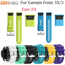 Watchband For Garmin Fenix 3/3 HR 26mm Replacement Watch Band for Garmin Fenix 5X Belt Quick Replacement Fit Band bracelet strap цена