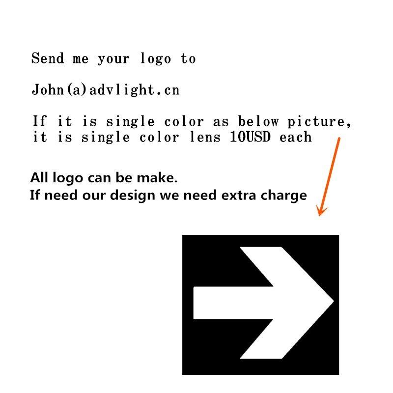 Logo projecteur magasin centre commercial Restaurant bienvenue Laser ombre conception propre logo personnalisé affichage bienvenue Laser ombre publicité - 2