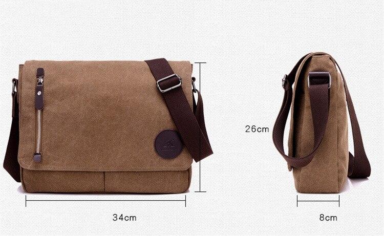 HTB1Lj7XaErrK1RkSne1q6ArVVXaL 2019 Vintage Men's Briefcase Canvas Men Messenger bag Classic Designer Shoulder Bags Pocket Casual Business Laptop Travel bags