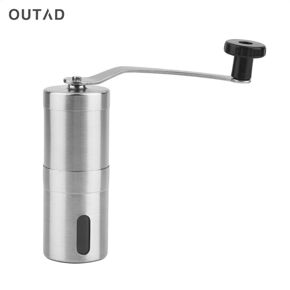 Grinding Tool Portable Coffee Grinder Washable Manual Stainless Steel Hand Manual Handmade Grinder Mill Kitchen Grinding Tool