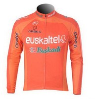 SPRING SUMMER 2012 Euskaltel Euskadi ONLY LONG SLEEVE ROPA CICLISMO CYCLING JERSEY CYCLING WEAR SIZE XS