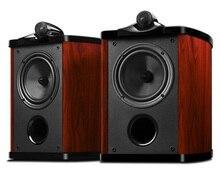 HiVi Diva 6.0 2-Way 2-Driver Bookshelf Speaker 6.5-Inch Woofer bass reflex piano paint top sound quality Loudspeaker (Pair)