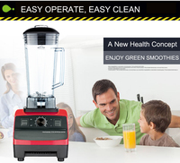 BPA Free 3HP 45000RPM 2L Heavy Duty Commercial Home Professional Power Blender Food Mixer Juicer Food