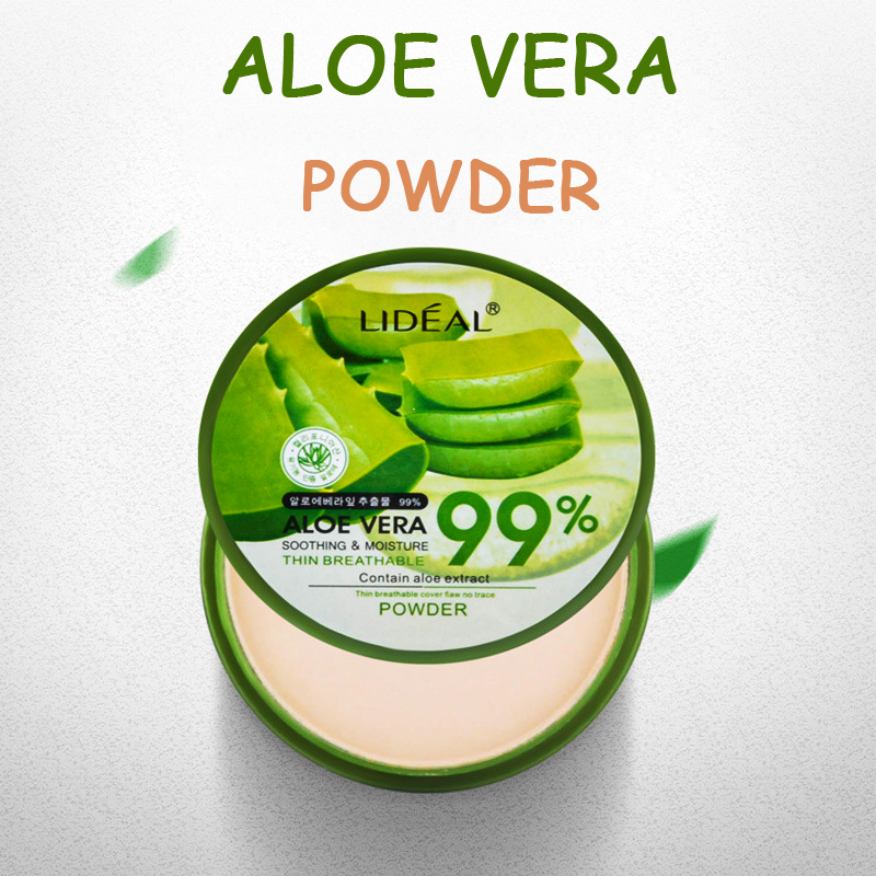 Cheap Makeup Waterproof Powder Aloe Vera Soft Face Whitening Concealer Mineral Foundation Matte Powder Make Up Palette