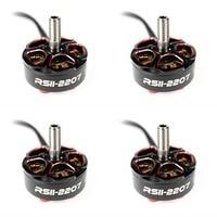 4pc Emax RSII 2207 Brushless Motor 3 6S 1600/2300/2550kv Motors for FPV Quadcopter