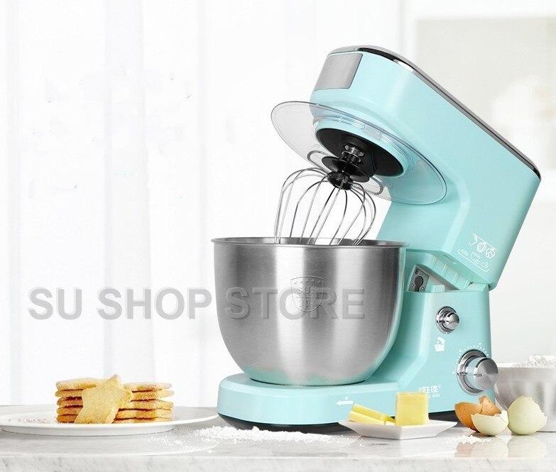 1000 w 5L alta qualidade Stand misturadores Misturadores de Alimentos elétrica amassar multifuncional máquina de batedor de ovos