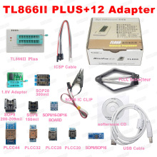 Bios EEPROM TL866CS Usb-Programmer-Better 12-Adapters XGECU Universal Minipro Than 100%Original
