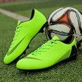 2b51999a Los hombres las uñas rotas fútbol zapatos largos picos zapatos de fútbol  para adultos y niños