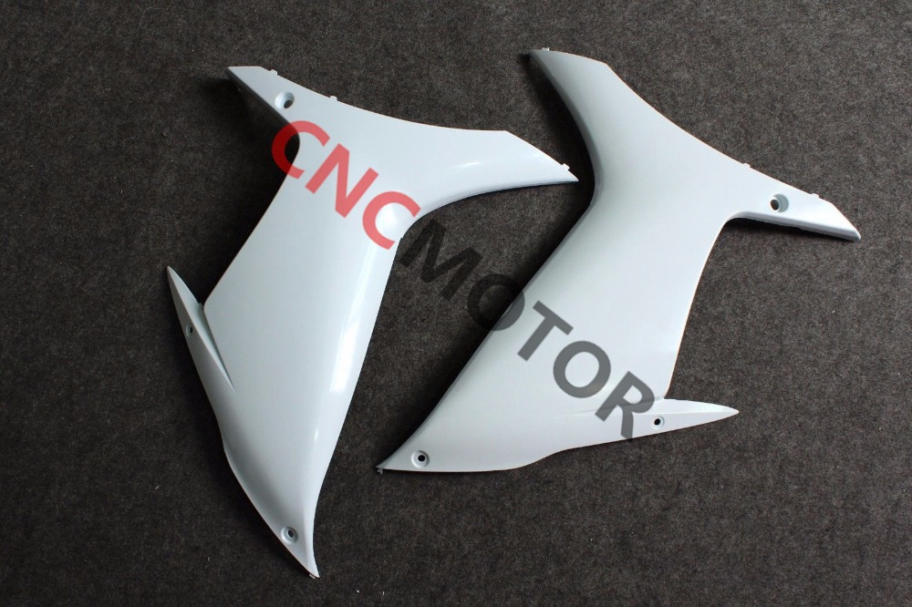 Unpainted Raw Right & Left Mid Side Panel Fairing Kit for SUZUKI GSX-R GSXR600/750 K11 2011-2014 зажимы apex hic mono kit raw