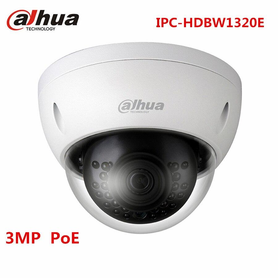 Dahua 3MP POE Dome CCTV IP Camera IPC HDBW1320E HD 1080P Onvif IP67 1K10 IR 30M