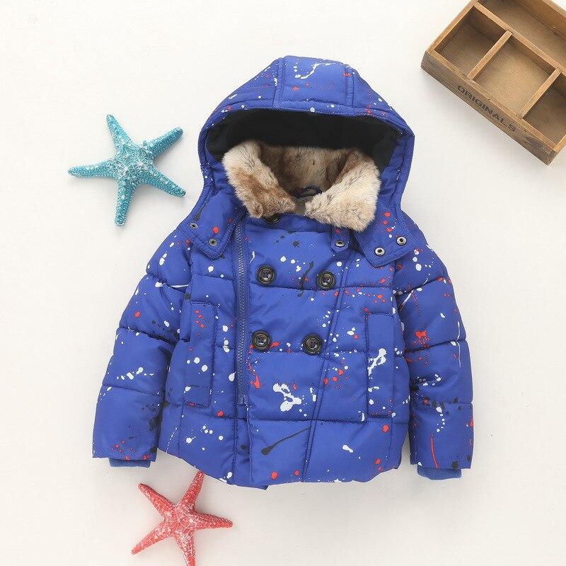 ФОТО YNB High Quality Keep Warm Thicken Children Girl Coat Kids Winter Jacket Brand New Girls Winter Coat