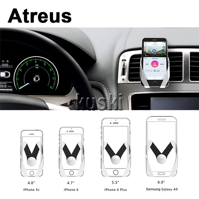 Atreus 1Pcs Car Accessories Auto Outlet Mobile Phone Holder Sticker ...